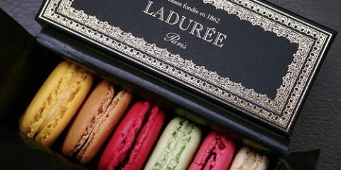 Laduree is the iconic maker of macaroons