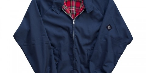 Blue Harrington Jacket