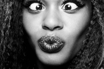 azealia banks close up