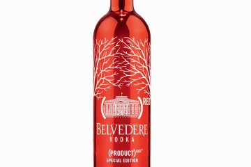 BELVEDERE(RED) Bottle Small