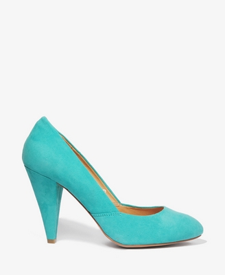 Forever21 Cone Heel Pumps